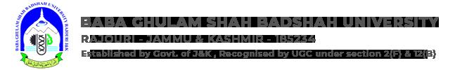 BGSBU - University In Kashmir